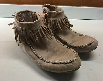 Dolcetta Maddy Girls Kids Booties Pink Zip Up Western Ankle Boots Dress Shoes