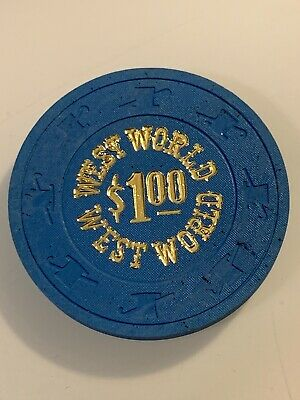 WEST WORLD $1 Casino Chip Henderson Nevada 3.99 Shipping
