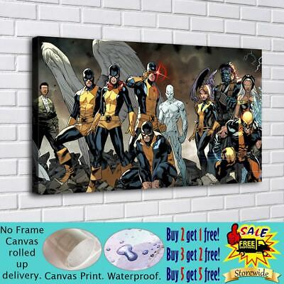 """16""""x30""""XMen- Poster HD Canvas prints Painting Home Decor Picture Room Wall art"""