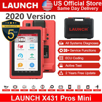 LAUNCH X431 PROS MINI OBD2 Diagnostic Scanner Wifi ScanPad Scan Tool Active Test