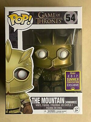 Funko POP The Mountain (Armoured) 2017 SDCC Exclusive Game of Thrones #54