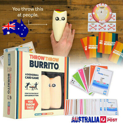 Throw Throw Burrito Party Card Game Original Edition Brand New - FREE SHIPPING