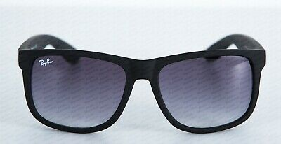 New Ray-Ban Justin Rb4165 54Mm Rubberized Frame Grey Gradient Lens Sunglasses