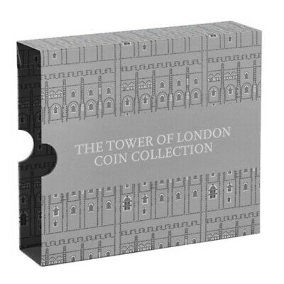 2019 Tower Of London £5 Coin Collection Holder Album Box Brand New Royal Mint