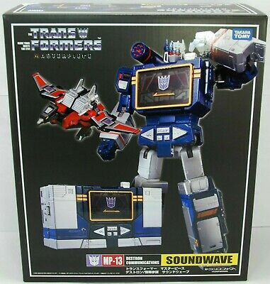 MP16 package set Mp15 Transformers Takara masterpiece Soundwave MP13