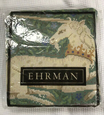 Ehrman tapestry needlepoint kit Unicorn by Candace Bahouth 1992