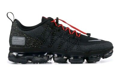 New Mens Nike Air Vapormax Utility Trainers Black Red Grey Running UK Size 8