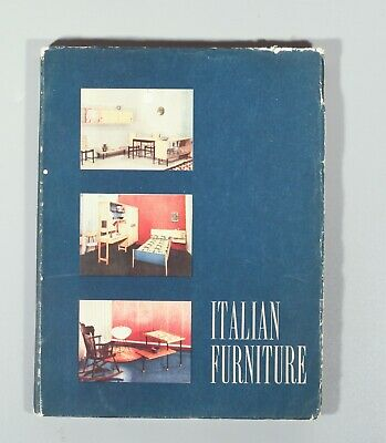 rare Italian Furniture 1958 Cassina Aldo Tura Carlo Mollino export promotion