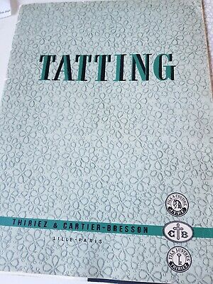 Tatting Booklet - a set of 3 instructional booklets