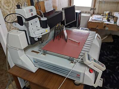 Engraving machine Gravograph IS6000 large format CNC laser/ cutting PRICE DROP