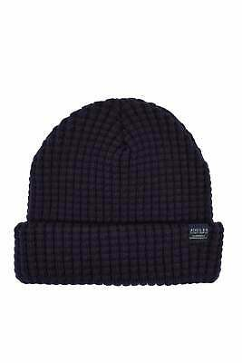 Joules Bamburgh Knitted Hat - Midnight