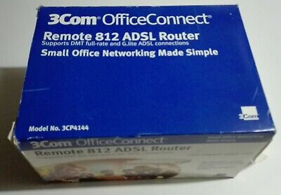 Dos unidades del OfficeConnect Remote 812 ADSL Router