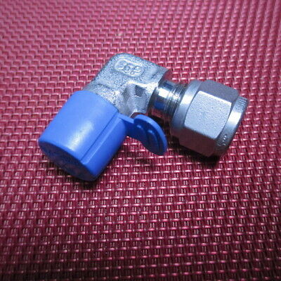 SSP Grip® 1/4 Tube OD x 1/4 NPT Male Pipe 90°ELBOW Connector 316 Stainless Steel