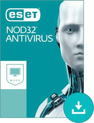 ESET NOD32 Antivirus Edition 2020 for PC, Mac OS X or Linux, Home Edition