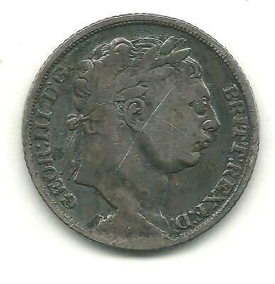 1816-20 Sixpence  Forgery