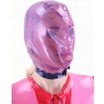 Sexy Latex Mask Rubber Unisex Hood Gummi for Party Wear Unique  0.4mm