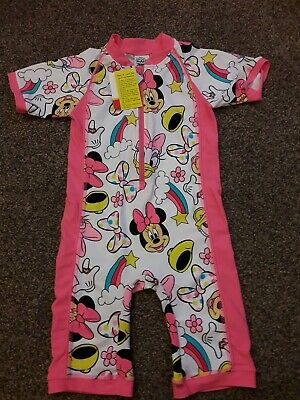 Minnie Mouse Swim/Wetsuit Age 3-4 Years