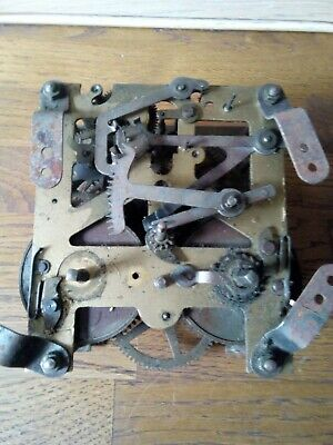 Vintag 8 Day Clock Movement ( Working) Made In England