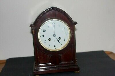 Antique French mahogany Mantel clock
