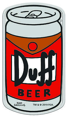 2019-P Tuvalu The Simpsons Duff Beer 1 oz Silver Coin