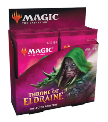 MTG Throne of Eldraine Collectors Edition Sealed Booster Box 12 Packs FLASH SALE
