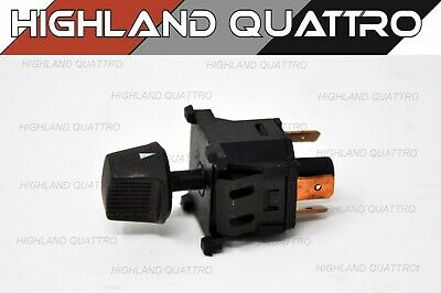 Audi ur quattro coupe fan blower control switch with knob (brown) 171959511