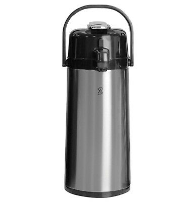 Newco 120817 KK 2.2L Push Button Airpot - Stainless Steel **NEW**