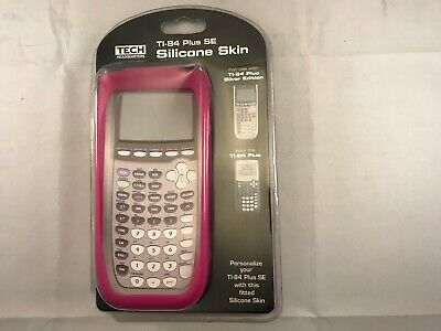 Texas Instruments TI-84 Plus SE Silicone Skin Pink New Tech Headquarters