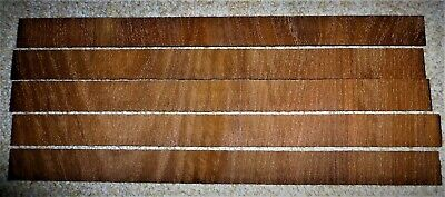 Mahogany Cross-banding Veneer for long-case clocks. Cut to 2 mm thick approx