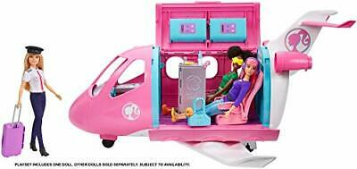 Barbie GJB33 Dreamplane Playset with Pilot Doll