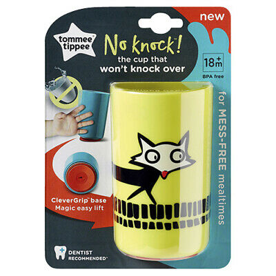 NEW Tommee Tippee No Knock Cup 300mL - Yellow