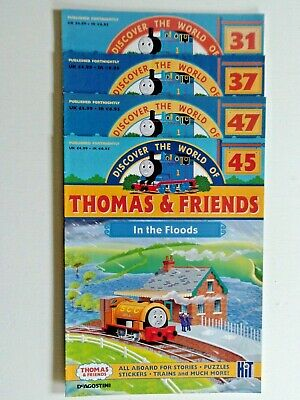 Discover The World Of Thomas & Friends-4 Issues With Stickers