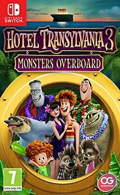 Hotel Transylvania 3: Monsters Overboard (Nintendo Switch) (New) - (Free Postage