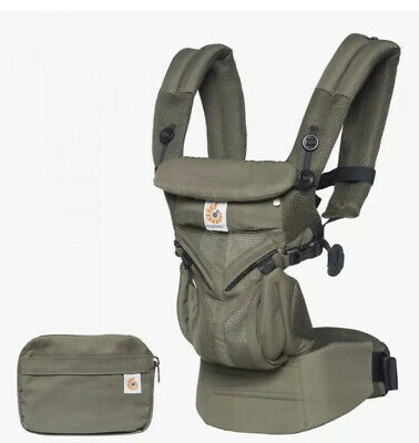 Ergobaby Omni 360 Baby Carrier All-In-One: Cool Air Mesh - Khaki Green