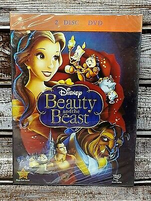 Disney's Beauty and the Beast (DVD 2010, 2-Disc Set) New! Free Fast Shipping!