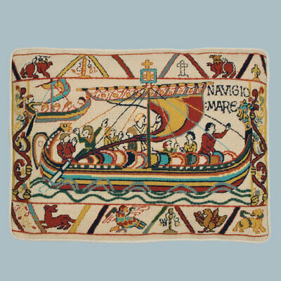 Glorafilia Tapestry Needlepoint Kit, Bayeux Tapestry - Invasion, The Crossing