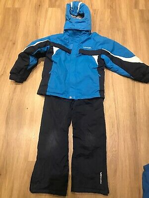 Trespass Ski Snow Jacket And Trousers / Salopettes Age 7-8years Boys