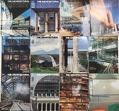 Architectural Review 1993.  All 12 issues Jan-Dec.
