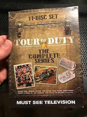 Tour of Duty - The Entire Series 3-Pack (DVD, 2015, 11-Disc Set)