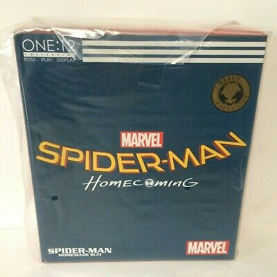 Mezco Exclusive One: 12 Collective Spider-Man: Homecoming - Homemade Suit NEW!!!