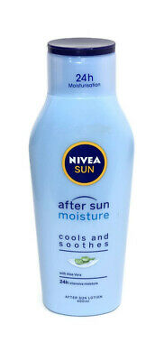 Nivea Sun After Sun Moisturising Aftersun Moisture Lotion Aloe Vera Cools 400 ml