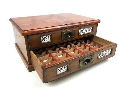 Sewing Needle Cabinet / Collectors Drawers / Storage / Slide Drawers / Photos