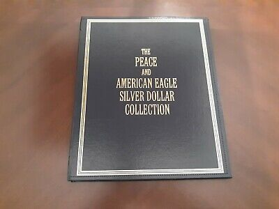 Peace And American Eagle Silver Dollar Collection Hardcover Book *Empty*