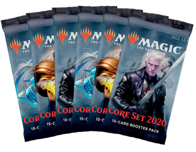 magic the gathering core set 2020 trading cards 1 single booster packet