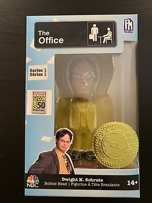UCC Dwight K Schrute Bobblehead Office SDCC 2019 Comic-Con Exclusive