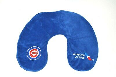 Chicago Cubs Travel Inflatable Neck Pillow 2019 Fan Game Day Give Away Collector