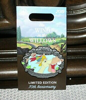 Disney Mr Toad Wind in the Willows 70th Anniversary 2019 LE Pin