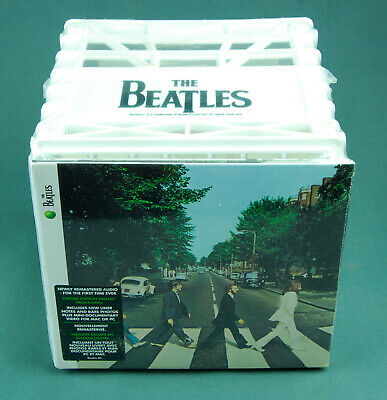 The Beatles Kool Krates ABBEY ROAD Digitally Remastered CD with XL TShirt Sealed