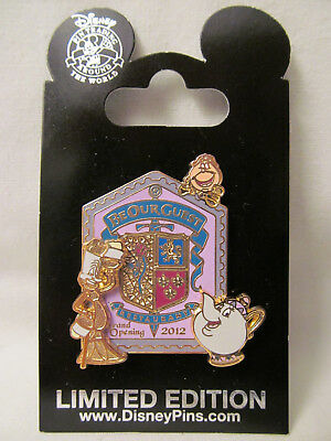 WDW~New Fantasyland 2012 Grand Opening - Be Our Guest Restaurant Pin # 94002~NOC