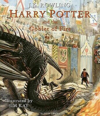 Harry Potter and the Goblet of Fire: The Illustrated Edition NEW Hardcover 2019